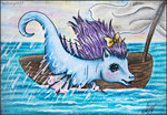 boat g1 lolliangel123 seaponies seawinkle traditional_art