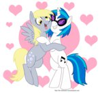 derpy_hooves shipping the-clockwork-crow vinyl_scratch