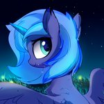 aureai filly nighttime princess_luna
