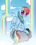 cloud rainbow_dash saiadass