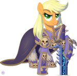 applejack costume crossover lich_king stasysolitude sword warcraft weapon
