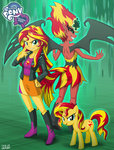 demon equestria_girls humanized species_confusion sunset_shimmer uotapo