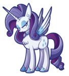 alicorn princess rarity xkappax