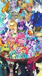 angel apple_bloom applejack cutie_mark_crusaders derpy_hooves discord flash_magnus fluttershy gallus highres inspectorvalvert king_sombra mage_meadowbrook main_six mistmane ocellus pinkie_pie princess_cadance princess_celestia princess_luna princess_twilight queen_chrysalis rainbow_dash rarity rockhoof sandbar scootaloo shining_armor silverstream smolder somnambula spike starlight_glimmer starswirl_the_bearded sunset_shimmer sweetie_belle tempest_shadow the_great_and_powerful_trixie thorax twilight_sparkle vinyl_scratch yona