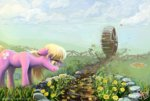 fence flowers lily_valley nemo2d tears water_wheel