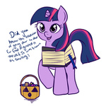 book comic costume halloween lulubellct twilight_sparkle