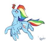 apples rainbow_dash rutkotka