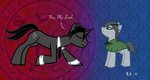 black_butler ciel_phantomhive ponified sebastian_michaelis the-clockwork-crow