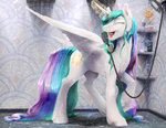 magic princess_celestia shower silfoe singing