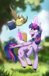 absurdres anticularpony book highres magic owlowiscious princess_twilight twilight_sparkle