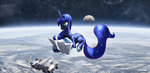 foxi-5 highres map princess_luna space space_suit spaceship