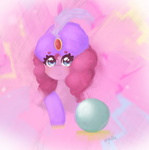 costume crystal_ball fortune_teller gypsy kryssidaunicorn pinkie_pie portrait