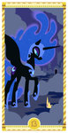 crown janeesper nightmare_moon tarot