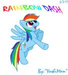 rainbow_dash transparent yoshiman