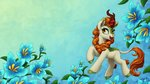 1jaz autumn_blaze flowers highres kirin