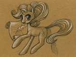 maytee quill scroll starlight_glimmer traditional_art