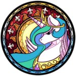 princess_celestia rugissang stained_glass