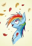 absurdres akweer highres leaves rainbow_dash