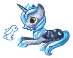aqua-pop bunny princess_luna