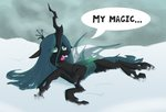askometa highres queen_chrysalis snow