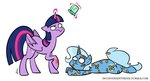 egophiliac inconvenienttrixie princess_twilight the_great_and_powerful_trixie twilight_sparkle
