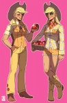 applejack apples emlan humanized