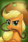 applejack chriswithata highres lasso rope