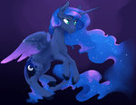 absurdres classical_unicorn highres princess_luna silfoe