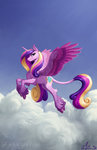 amarynceus cloud flying highres princess_cadance