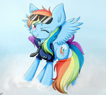 glasses rainbow_dash riouku sunglasses uniform