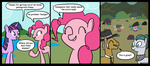 braindps cloudy_quartz comic igneous_rock parasprite parents pinkie_pie rock_farm twilight_sparkle