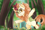 autumn_blaze forest highres kirin rivin177