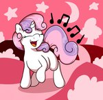 highres lyricbrony singing sweetie_belle