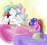 absurdres filly firimil highres magic princess_celestia twilight_sparkle