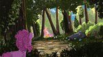 angel fluttershy forest hierozaki highres pinkie_pie scenery