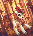 autumn_blaze highres kirin mirroredsea