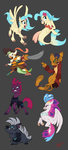 capper captain_celaeno grubber highres joliecarbone princess_skystar queen_novo tempest_shadow
