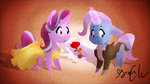 clothes dress flowers magic rose_(flower) shipping singingseashelle starlight_glimmer the_great_and_powerful_trixie