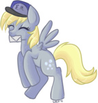 derpy_hooves hat lulubellct mail transparent
