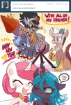 ask ask-chibilestia colt discord filly fireworks king_sombra new_year's philomena princess_celestia princess_luna queen_chrysalis suirobo young