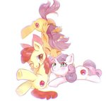 apple_bloom cutie_mark_crusaders scootaloo sweetie_belle yakieringi014