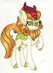 absurdres autumn_blaze highres kirin luxiwind traditional_art