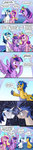 absurdres equestria_girls flash_sentry friendship_is_witchcraft highres pluckyninja princess_cadance princess_twilight shining_armor tall_image tall_image long_image twilight_sparkle