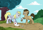 bandage caycowa derpy_hooves tears time_turner