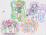 apple_bloom big_macintosh bunny cutie_mark_crusaders fluttershy hinausagibaby humanized rarity scootaloo sweetie_belle
