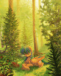 forest highres koviry original_character