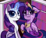 highres magic princess_twilight rarity sadtrooper twilight_sparkle