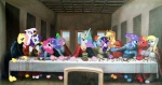 applejack bible big_macintosh derpy_hooves fluttershy ghettomole gilda main_six parody pinkie_pie princess_celestia princess_luna rainbow_dash rarity spike the_great_and_powerful_trixie the_last_supper twilight_sparkle
