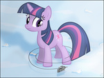 big crossover highres snow star_wars stinkehund twilight_sparkle winter