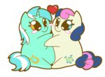 coggler gopherfrog heart lyra_heartstrings lyrabon shipping sweetie_drops